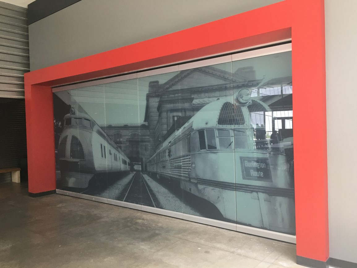 Amazing Decorative Window Film Mural By Mid America