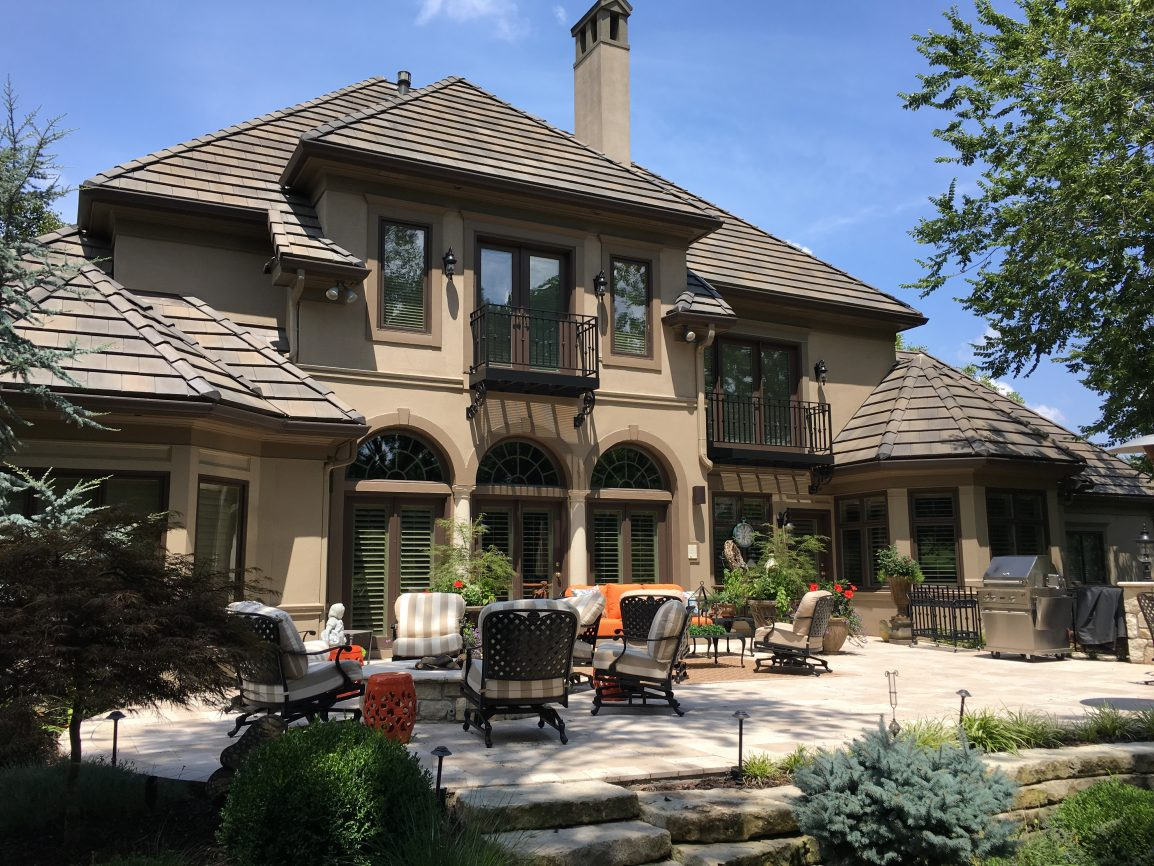 Residential Window Tint on This Beautiful Home By Mid America Tint